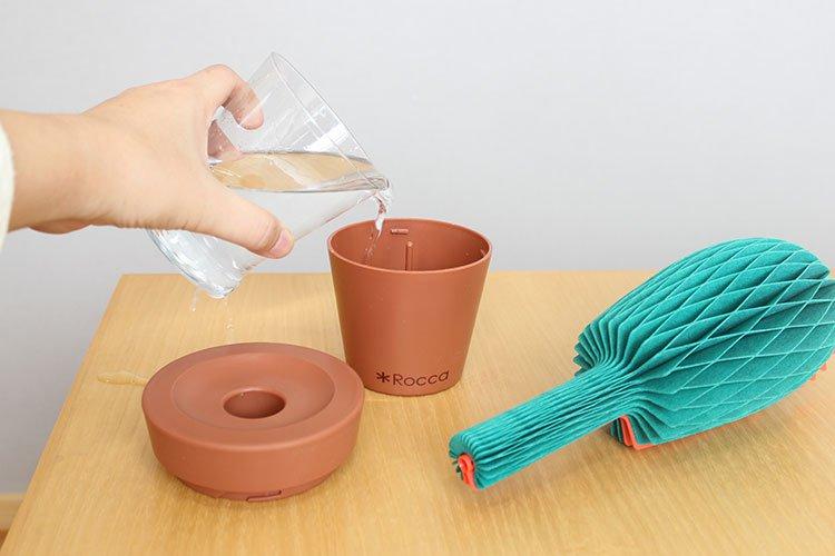 ロッカ 紙の加湿器