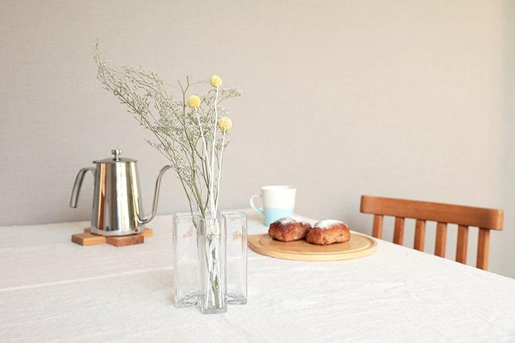 ホルムガード クロスベース 花瓶 12cm