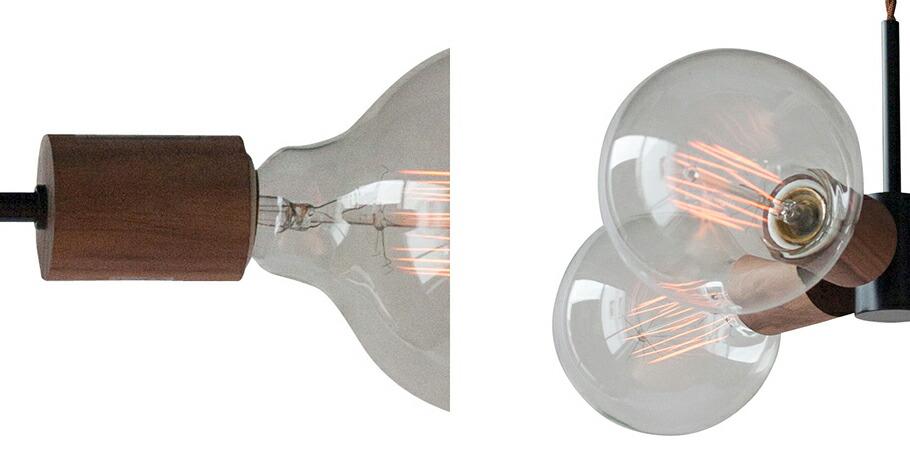 APROZ MEEL/3P(ウッド&スチールペンダントライト3灯)
