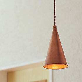 JOHGO(アルミ&真鍮ペンダントライト1灯)