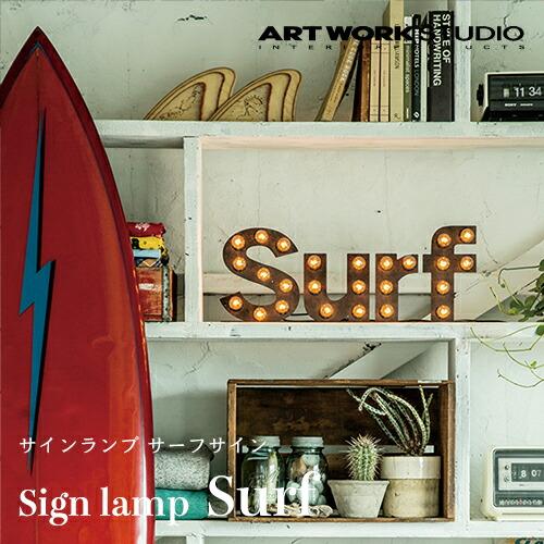 ARTWORKSTUDIO Sign lamp Surf(サインランプ サーフサイン)
