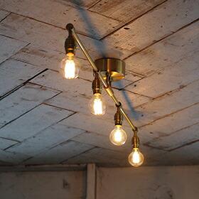 Laiton 4-ceiling lamp(レイトン4シーリングランプ)