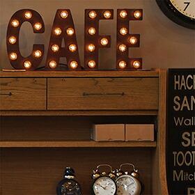 Sign lamp CAFE(サインランプ カフェサイン)