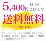 5400円以上のご購入で送料無料!