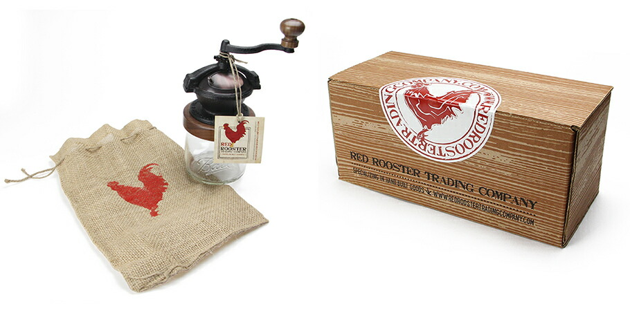 RED ROOSTER TRADING COMPANY:Camano Coffee Mill(カマノコーヒーミル)