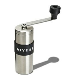 RIVERS「COFFEE GRINDER GRIT SILVER(コーヒーグラインダーグリット シルバー)」