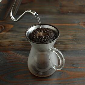 KINTO「コーヒーカラフェセット(ステンレス)」300ml
