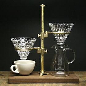 THE COFFEE REGISTRY「Clerk duet pour over stand(クラークデュエットポーオーバースタンド)」