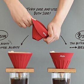 RIVERS「COFFEE DRIPPER CAVE(コーヒードリッパー ケイブ リバーシブル)」