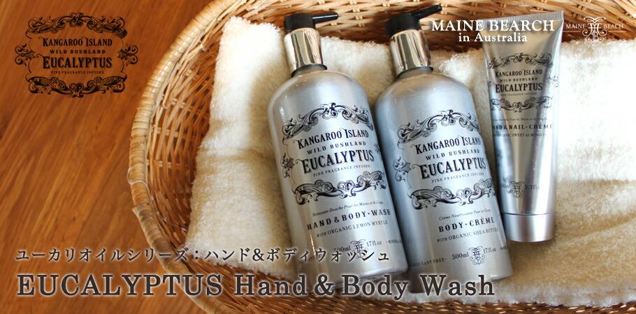 ユーカリオイルシリーズ:Hand&Body Wash(ハンド&ボディウォッシュ)