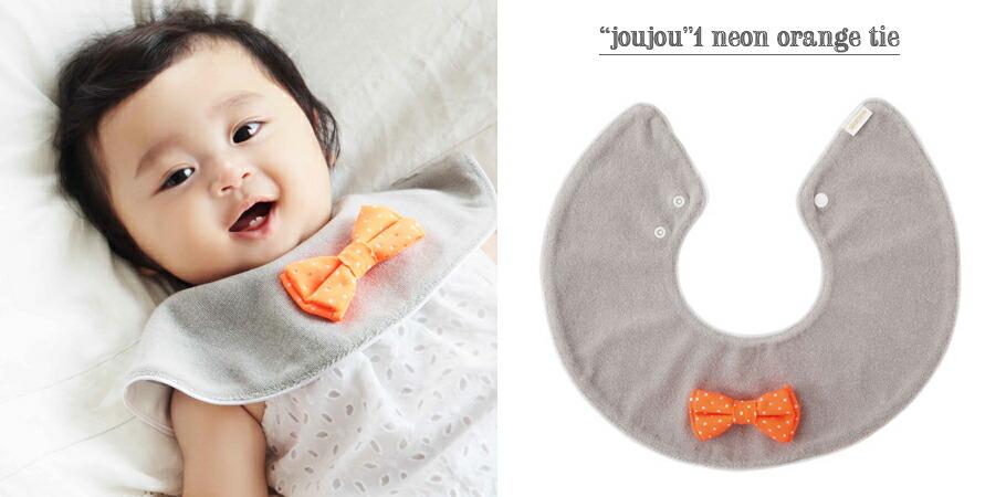 """""""joujou"""" 1 neon orange tie"""