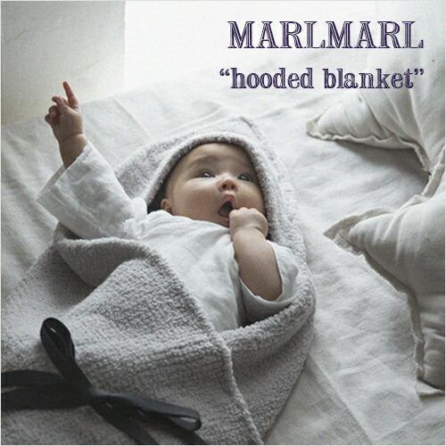 MARLMARL ブランケット hooded blanket