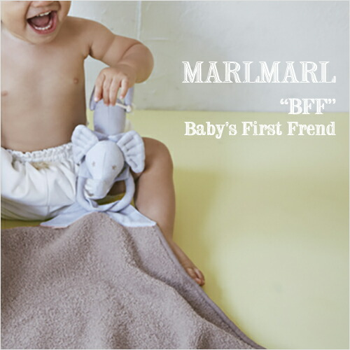 "MARLMARL ブランケット BFF ""Baby's First Friend"""
