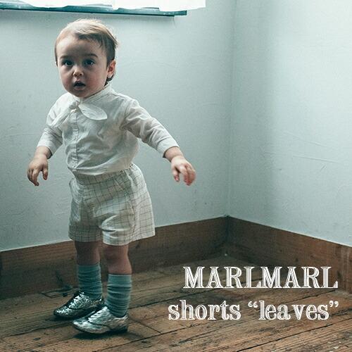 MARLMARL ショートパンツ leaves