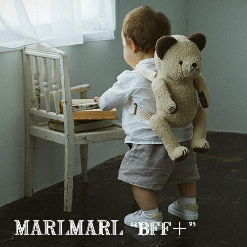 "MARLMARL 多機能ぬいぐるみリュック BFF+ ""Baby's First Friend"""