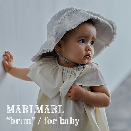 MARLMARL アウトドアハットbrim(ベビーサイズ)