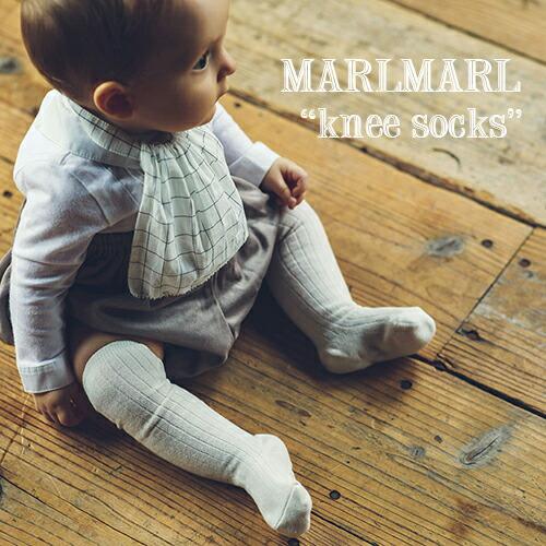 MARLMARL ニーハイソックス knee socks(モチーフNo.1、2)(リニューアル)