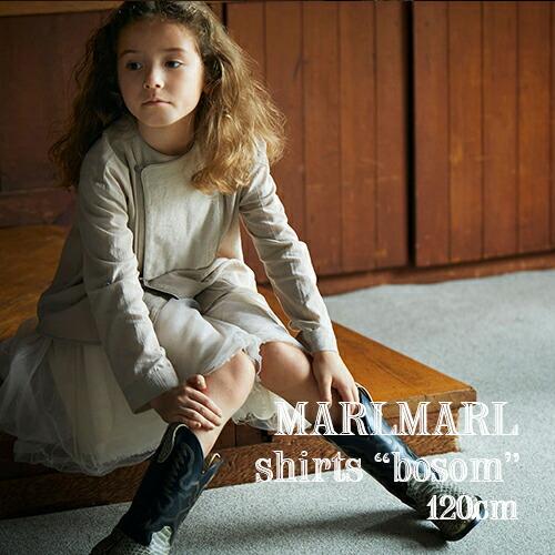 MARLMARL シャツ bosom(120cm)