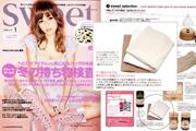 女性ファッション誌「Sweet / スウィート 1月号」でマイクロコットンが紹介されました。