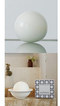 形状・香り・素材のすべてにこだわった、まあるい石けん『TAMANOHADA SOAP』