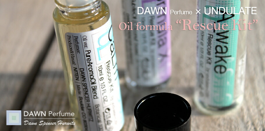 DAWN Perfume&UNDULATE:Oil formula Rescue Kit(オイルフォーミュラ レスキューキット)