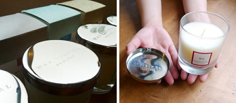 Wax Lyrical / INTRIOR PERFUME(ワックスリリカル インテリアパフュームコレクション) グラス入りアロマキャンドル