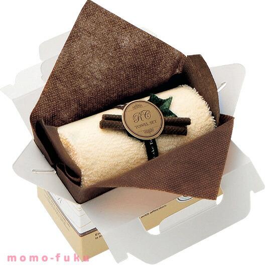 ロールケーキ BOX入りタオルセット3