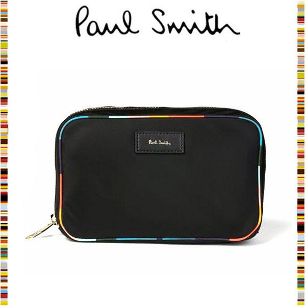 【Paul Smith】アーティストストライプポップ ポーチのサムネイル