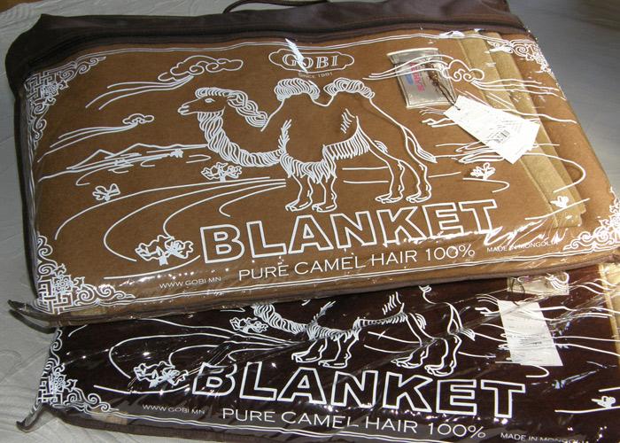 GOYOキャメル100%最高級キャメル100%毛布【送料無料】