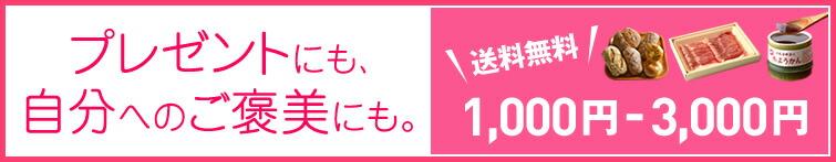 1,000円~3,000円
