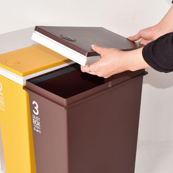 cd2cd79e39 楽天市場】日本製 資源ゴミ横型3分別ワゴン ゴミ箱 ごみ箱 ...