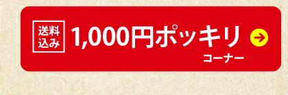 送料込み 1,000円ポッキリコーナー