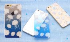 スマホケース ほぼ全機種対応 クラゲ iPhone Xperia Galaxy