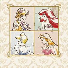 ディズニー プリンセス ラプンツェル アリエル ベル アナと雪の女王 シンデレラ ジャスミン グッズ