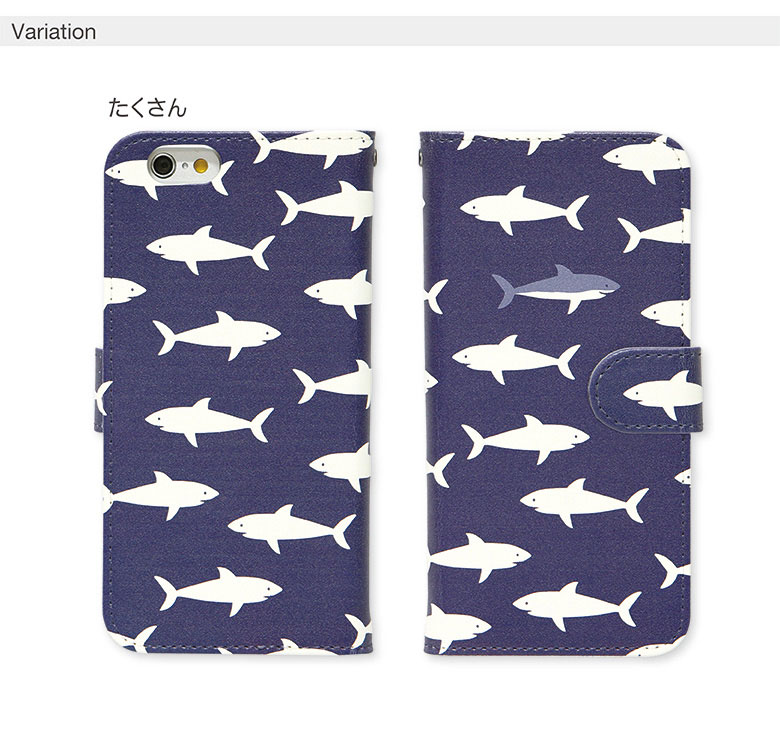 29197726e2 【楽天市場】iPhone XS iPhone XS Max iPhoneX iPhone8ケース iPhone8 Plus iPhone7 ケース  多機種 手帳型ケース オリジナル No106 サメ|アイフォンXs xperia iPhone ...