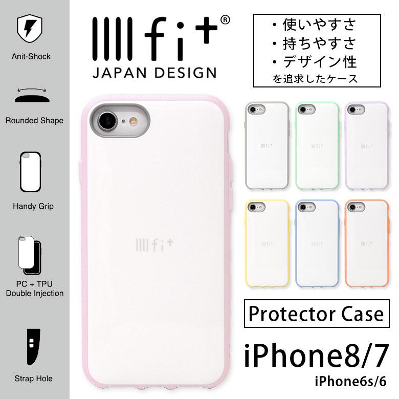IIIIfit イーフィット スマホケース ハイブリッド iPhone8 iPhone7