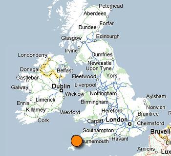 キャメルバリーの地図