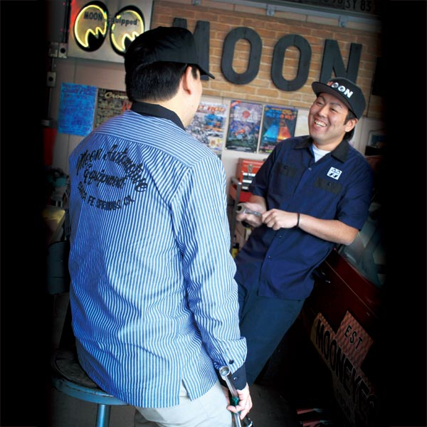 MOON Automotive Equipment  Short Sleeve Work Shirt