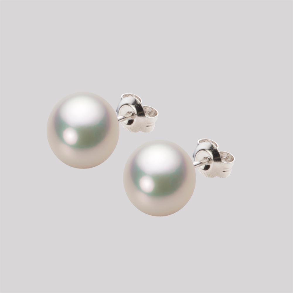 サンタマリアアクアマリン ダイヤモンド ギフト ピアスK18ホワイトゴールド (10788) ホワイトダイヤ YK-N073-1608K18WG レディース レクタングル ゴールド 3月誕生石