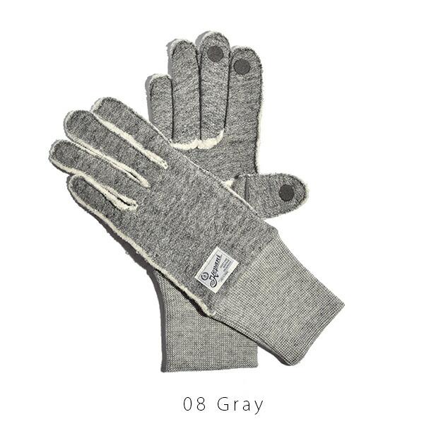 メール便 送料無料 Kepani ケパニ MOONLOID別注 裏起毛 スマホ対応 手ぶくろ グローブ 手袋 Saguaro サグアロ メンズ レディース MADE IN JAPAN 日本製
