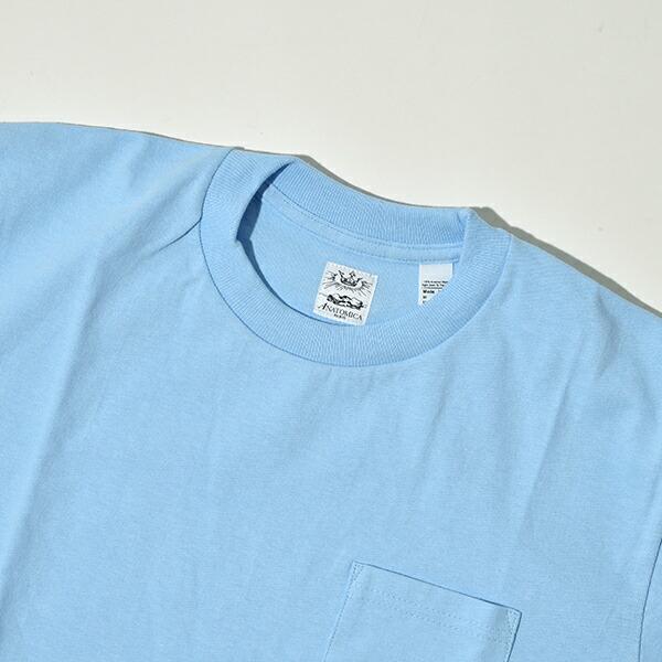 【送料無料】【限定カラー】ANATOMICA アナトミカ ポケT ポケTEE 半袖 Tシャツ 無地 カットソー メンズ レディース MADE IN USA アメリカ製