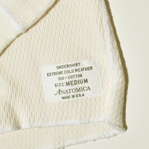 ANATOMICA アナトミカ サーマル カットソー ロンTEE レイチェルサーマル 11オンス 寒冷地仕様 アメリカ製 MADE IN USA