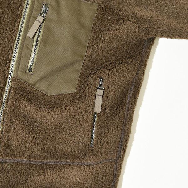 CORONA コロナ MOONLOID ムーンロイド 別注 WOOL ALPACA PILE JACKET ウール アルパカ パイル ジャケット フリース メンズ MADE IN JAPAN 日本製