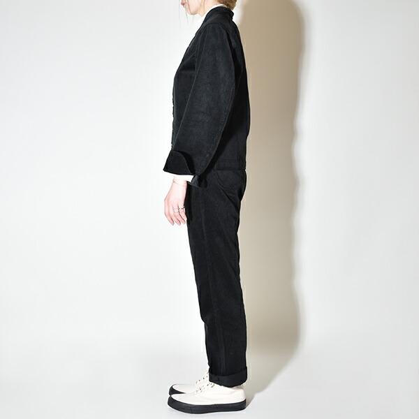 ANATOMICA アナトミカ レディース 別注 CORDUROY DOLMAN コーデュロイ ドルマン ジャケット Brisbane・Moss ブリスベンモス BLACK ブラック 黒 MADE IN JAPAN 日本製