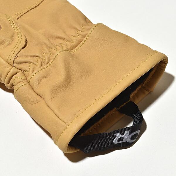 アウトドアリサーチ アクセル 3 フィンガー ワーク グローブ 手袋 レザー 本革 防風 耐久 OUTDOOR RESEARCH