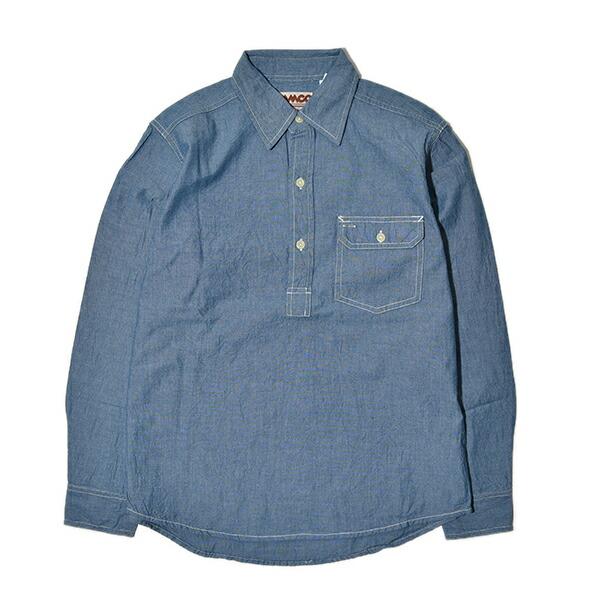 CAMCO カムコ シャンブレー プルオーバ シャツ 長袖 ワークシャツ