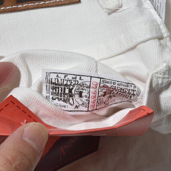 アナトミカ マリリン2 ホワイト デニムパンツ ANATOMICA 618 MARILYN 2 ジーンズ ハイウエスト マリリン・モンロー 日本製 送料無料 通販