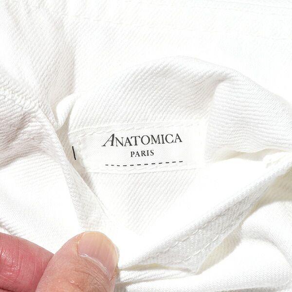 アナトミカ マリリン1 ホワイト デニムパンツ ANATOMICA 618 MARILYN 1 ジーンズ ハイウエスト マリリン・モンロー 日本製 送料無料 通販