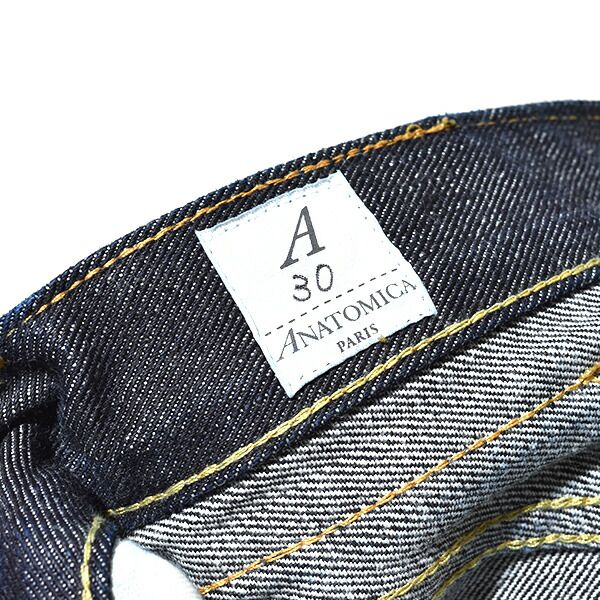 アナトミカ ANATOMICA メンズ 618 ORIGINAL オリジナル ジーンズ デニムパンツ 別注レングス 30インチ 日本製