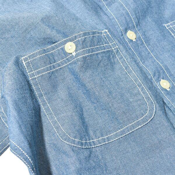 CAMCO カムコ シャンブレー シャツ 半袖 ワークシャツ